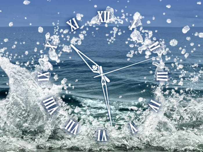 water-element-clock
