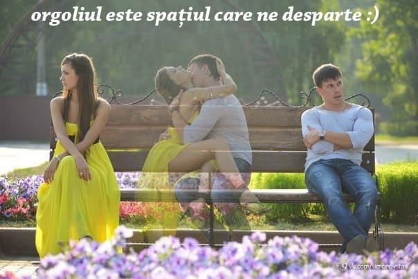Orgoliul este spațiul care ne desparte