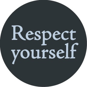 respect yourself button 02201